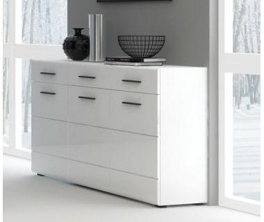Комод Bianko BI 8 (Бьянко) белый
