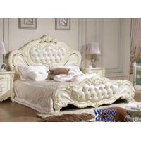 Кровать двуспальная Верона 180х200см с эко кожей белый Акорд