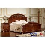 Кровать двуспальная Беатриче 8053 (орех итальянский) 160х200см Акорд
