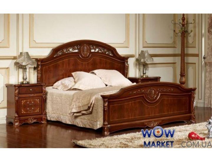 Кровать двуспальная Беатриче 8053 (орех итальянский) 180х200см Акорд