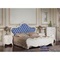 Кровать двуспальная Тоскана (белая с патиной) 180х200см Акорд