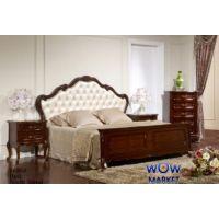 Кровать двуспальная Эпока 8686 (махонь) 180х200см Акорд
