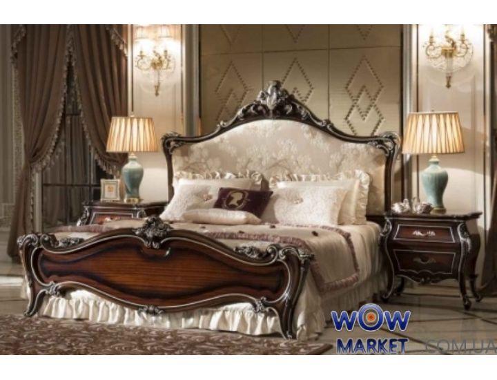 Кровать двуспальная CF 801 180х200см орех Акорд