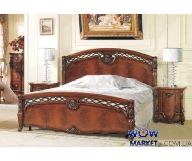 Кровать двуспальная CF 8627 180х200см орех итальянский Акорд