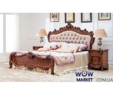 Кровать двуспальная CF 8711 180х200см орех итальянский Акорд