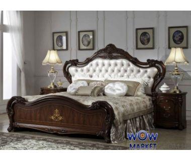 Кровать двуспальная CF 903 160х200см орех Акорд