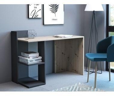 Компьютерный стол Paco 1 (Пако 1) дуб артисан, антрацит