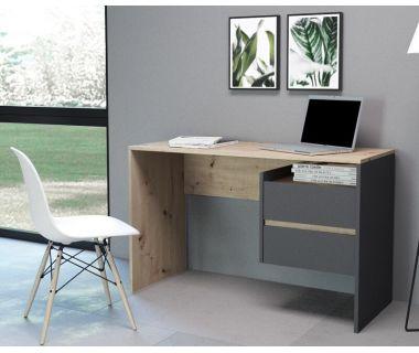 Компьютерный стол Paco 3 (Пако 3) дуб артисан, антрацит