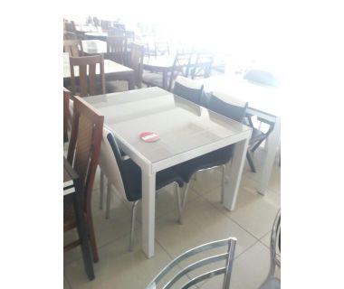 Стол раскладной AF1038CDT капучино 120(+45+45)*86*75см