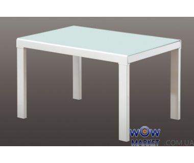 Стол раскладной AF1038CDT белый 120(+45+45)*86*75см Акорд