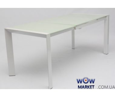 Стол раскладной AF1055ADT белый 122(+60)*80*76см Акорд