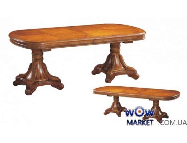 Стол раскладной DM-Р22Ext 2300(+400x3)x1100x780мм орех, вишня Акорд