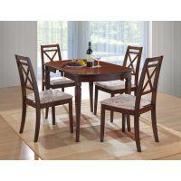 Кухонный комплект стола Modena и стулья Picasso, темный орех Ак