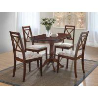 Кухонный комплект стола Salerno и стулья Picasso, темный орех Ак