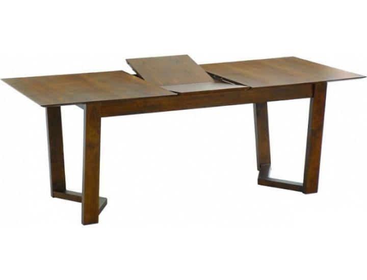 Раскладной деревянный обеденный стол Vitas (Витас) каштан