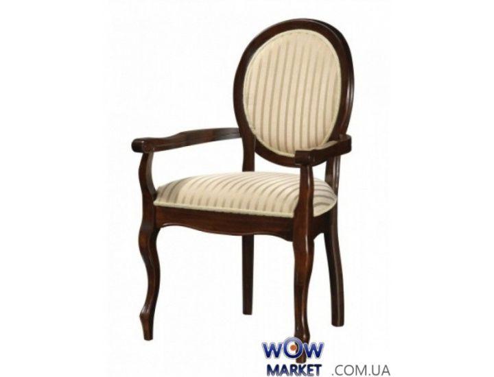 Кресло Fiona (Фиона) орех, белый Акорд