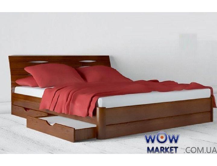 Кровать двуспальная Аурель Марита Макси с ящиками 160х200(190)см
