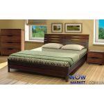 Кровать двуспальная Аурель Марита 160х200(190)см