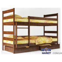 Кровать двухъярусная Аурель Ясная 80х190см