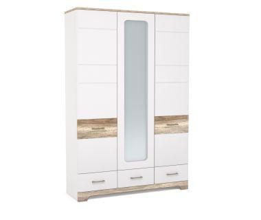 Шкаф зеркалом 3Д3Ш Mulatto H Blonski (Блонски)
