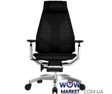 Кресло офисное Genidia Mesh эргономичное, черное C.S. Group