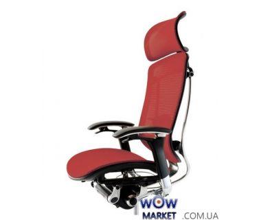 Кресло компьютерное Okamura Contessa (Окамура Контесса), с подголовником, сетка