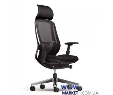 Кресло компьютерное Okamura Sylphy (Окамура Салфи), с подголовником