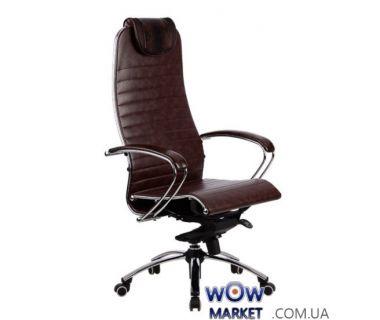 Кресло компьютерное Samurai K1 Brown (Самурай)