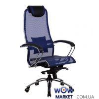 Кресло компьютерное Samurai S1 Blue (Самурай)