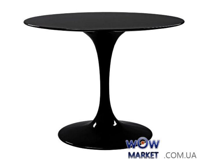 Стол обеденный Tulip (Тюльпан) черный 110 см