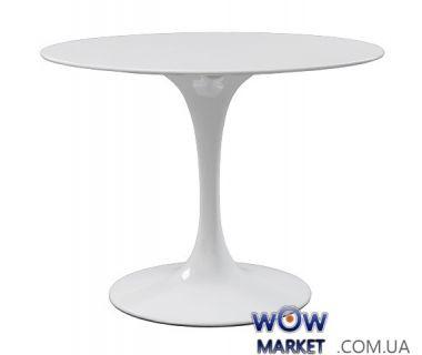 Стол обеденный Tulip (Тюльпан) белый 110 см