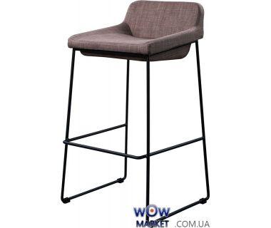 Барный стул из ткани Comfy (Комфи) серый