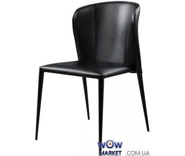 Кожаный стул Arthur (артур) чёрный