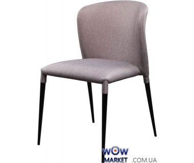 Мягкий стул из ткани Arthur (Артур) светло-серый