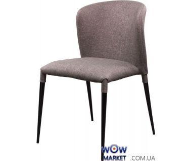 Мягкий стул из ткани Arthur (Артур) серый