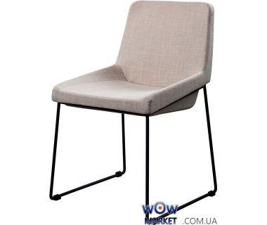 Мягкий стул из ткани Comfy (Комфи) светло-серый