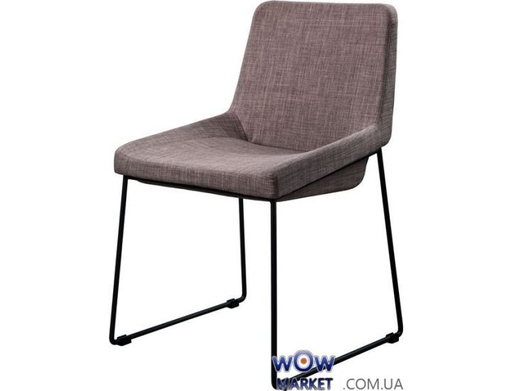 Мягкий стул из ткани Comfy (Комфи) серый