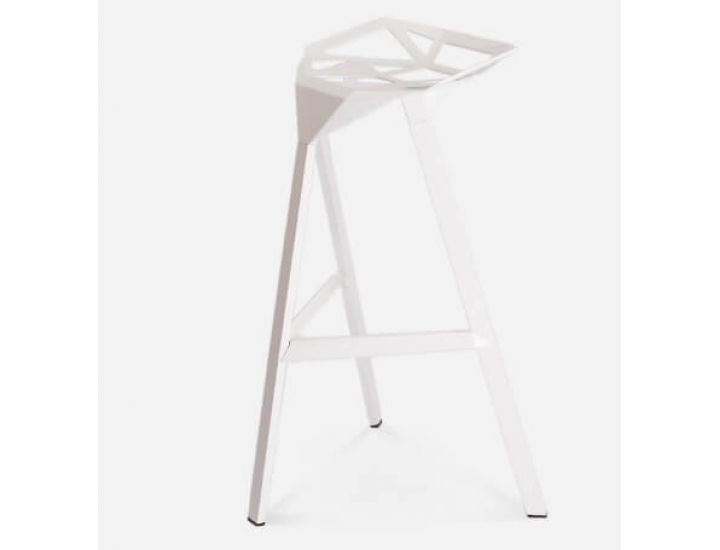 Стул барный Chair One Bar белый