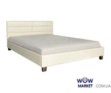 Кровать двуспальная Джустина 160х200см (беж-карамельный) Domini (Домини)