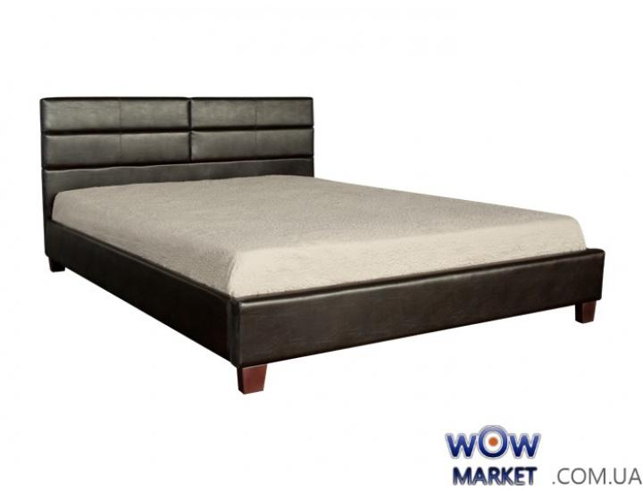 Кровать двуспальная Джустина 160х200см (браун) Domini (Домини)