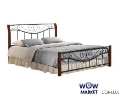 Кровать Ленора 160*200см ДЛ (каштан) Domini (Домини)