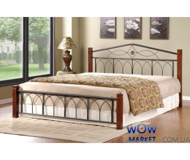 Кровать двуспальная Миранда 160*200см М (каштан) Domini (Домини)