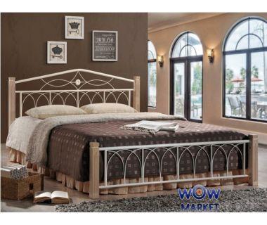 Кровать двуспальная Миранда 160*200см М (крем) Domini (Домини)