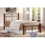 Кровать односпальная Миранда 90*200см М (каштан) Domini (Домини)