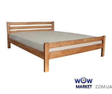 Кровать двуспальная Элегант 160*200см (орех светлый) Domini (Домини)