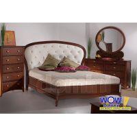 Кровать Афина 160х200см (темный каштан) Domini (Домини)