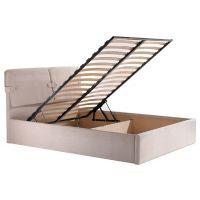Кровать Феллини с подьемным механизмом 160х200см (мисти беж) Domini (Домини)