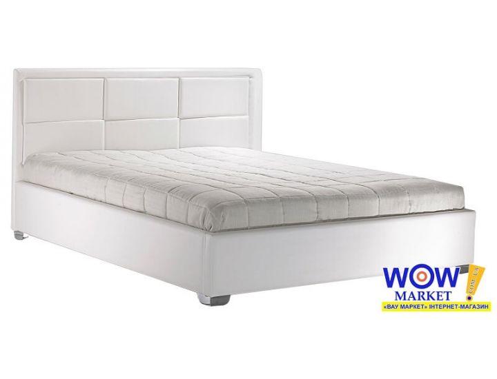 Кровать двуспальная Парма 160х200см (Белая) Domini (Домини)