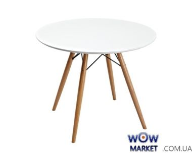 Стол Прайз d800*800 (белый) Domini (Домини)