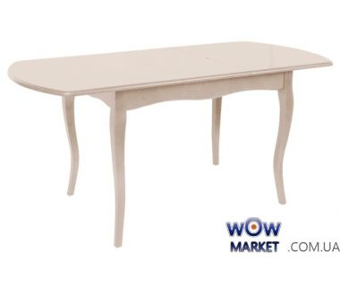 Стол раскладной Джессика 1300(+400)*800*770 (айвори) Domini (Домини)
